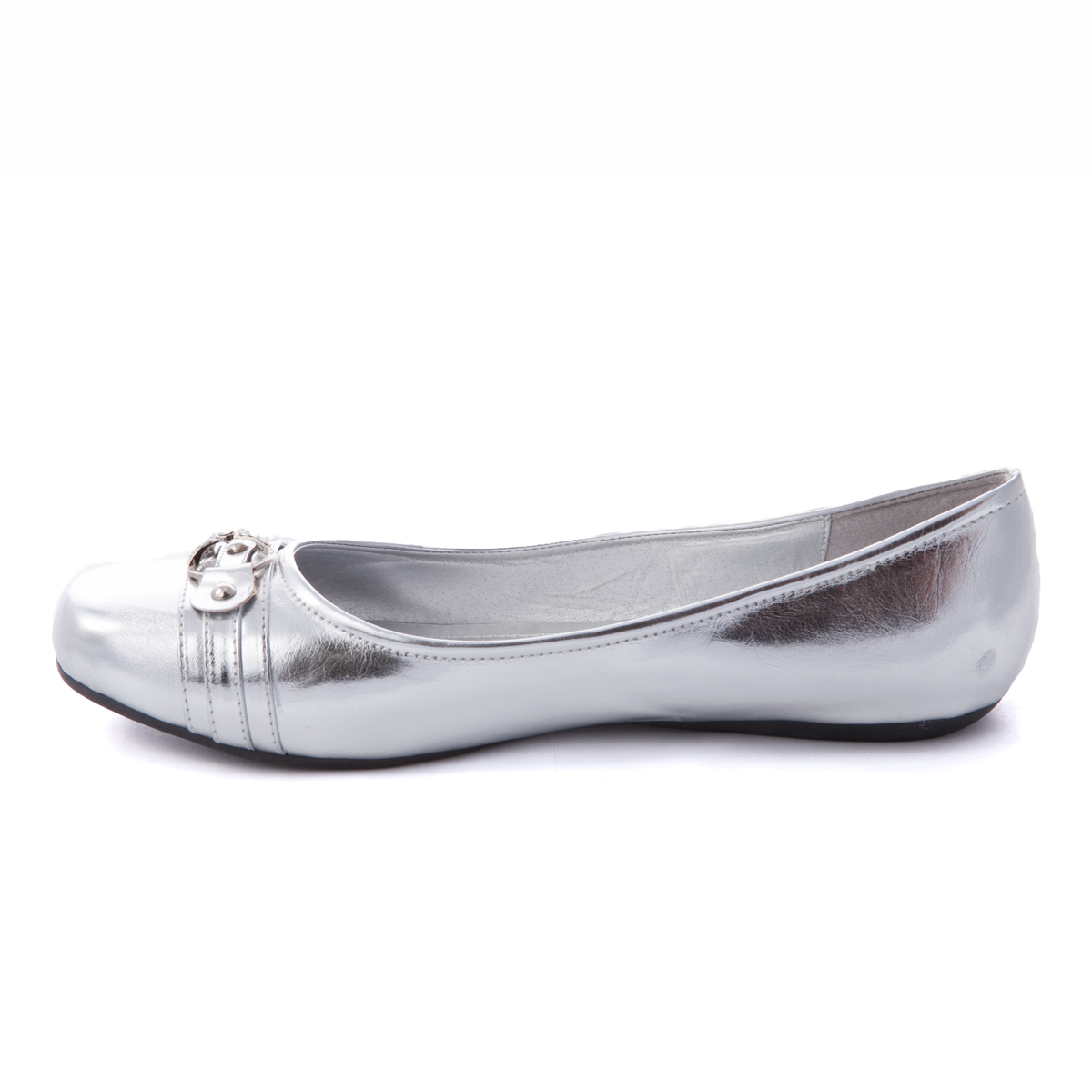 Free shipping BOTH ways on womens silver ballet flats, from our vast selection of styles. Fast delivery, and 24/7/ real-person service with a smile. Click or call