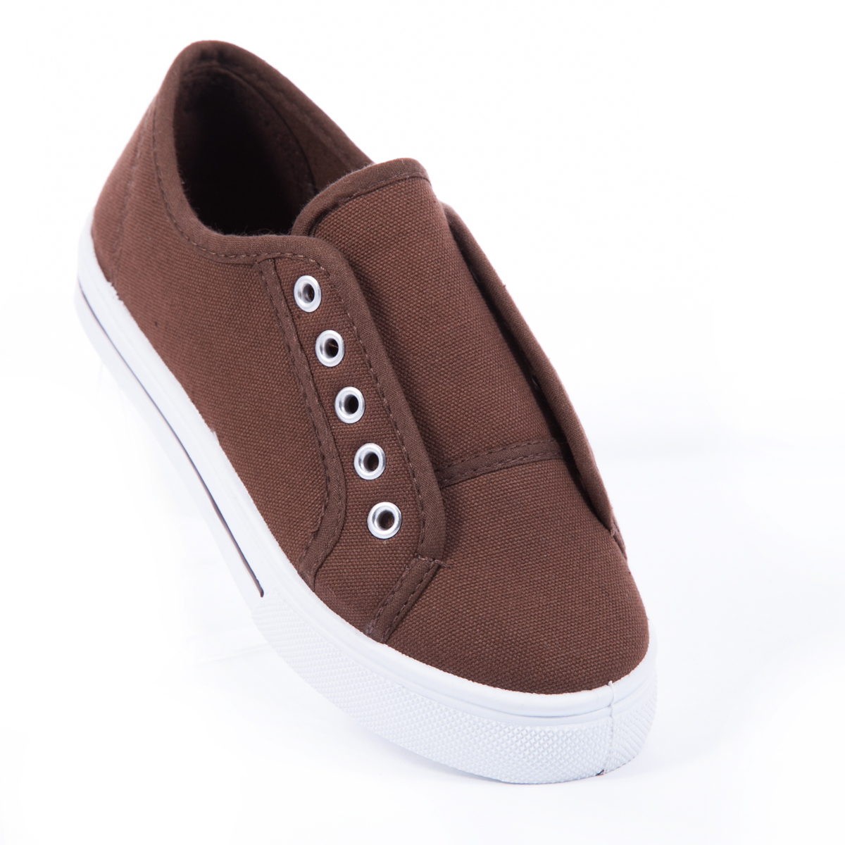 slip on shoes lace less sneaker canvas flat boys