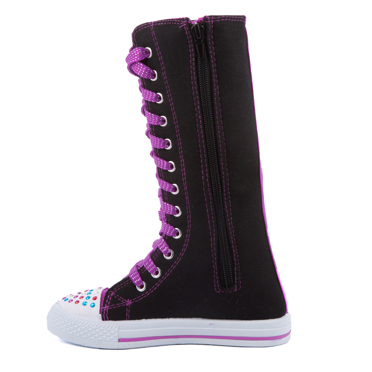 Girls' Toys. Musical Instruments. Knee-high Boots. Showing 48 of 76 results that match your query. Search Product Result. Product - Brinley Co. Women's Tall Buckle Detail Boots. Product - Brinley Co. Women's Extra Wide Calf Ankle Strap Knee-high Riding Boots. Product Image. Price $