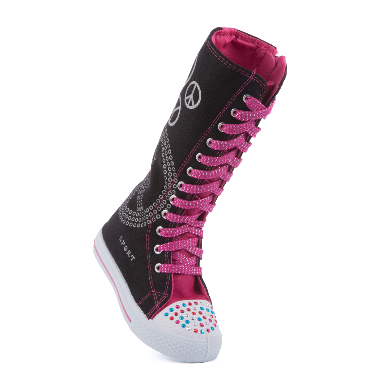 Free shipping BOTH ways on girls knee high sneakers, from our vast selection of styles. Fast delivery, and 24/7/ real-person service with a smile. Click or call
